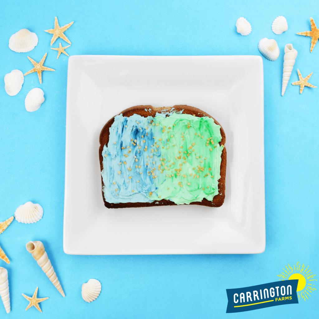colorful toast