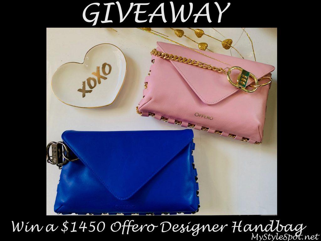 GIVEAWAY: Win a Designer Offero Handbag (a $1450 Value!!)