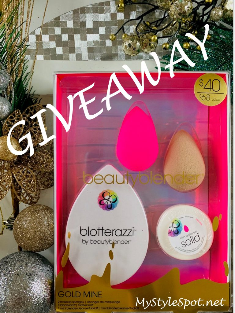 GIVEAWAY: Win a Beauty Blender Set + TONS of other Prizes!