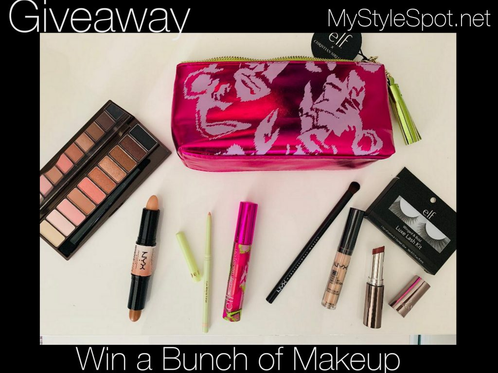 GIVEAWAY: Win a Bunch of Makeup + A Limited Edition Christian Siriano Makeup Bag