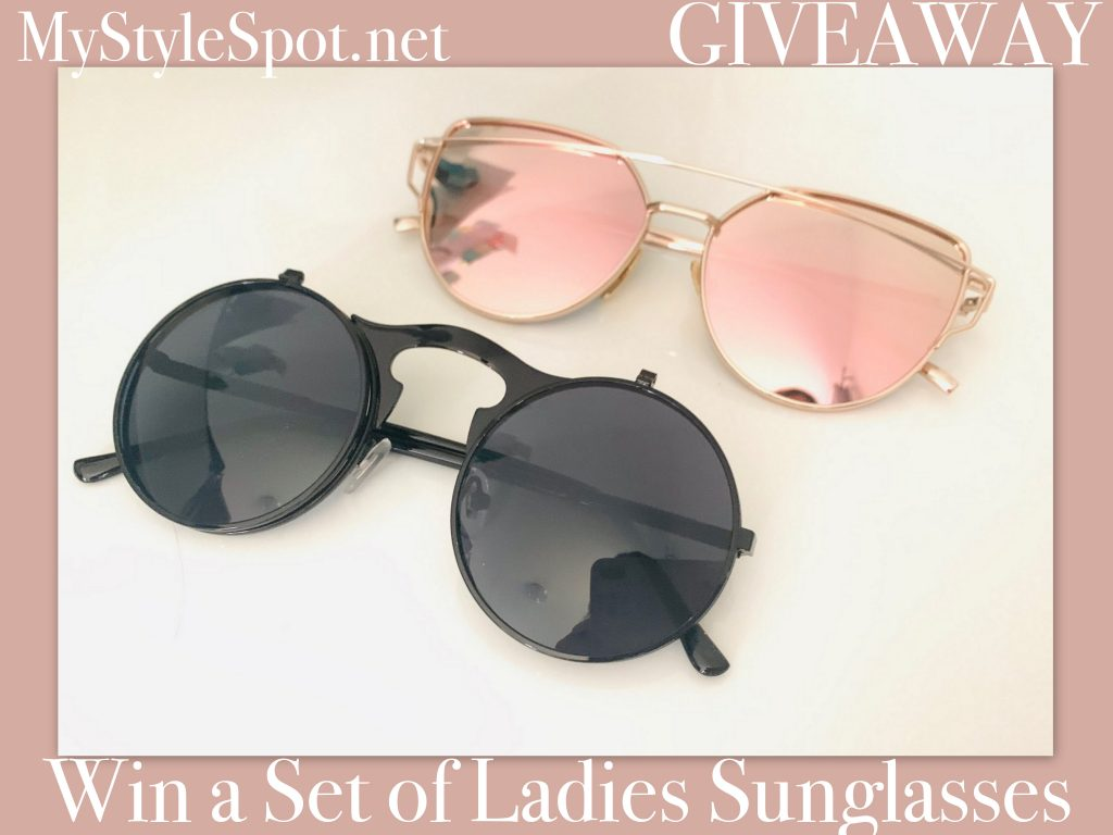 Enter to win a set of ladies sunglasses