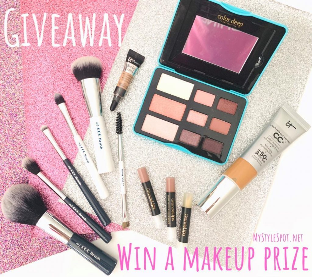 GIVEAWAY: Win a Makeup Prize Pack (a $130 Value)