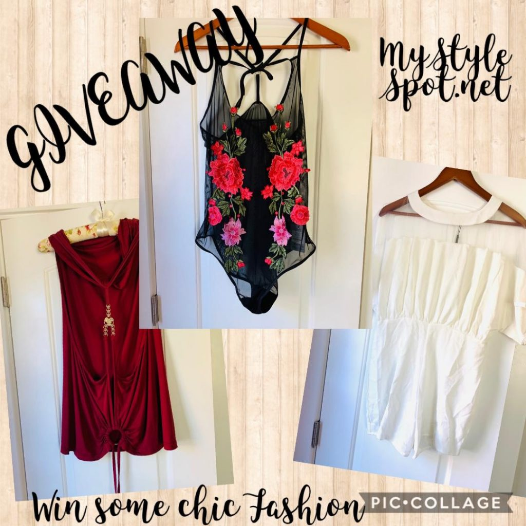 GIVEAWAY: Win Chic Ladies Fashion - 3 Pieces!