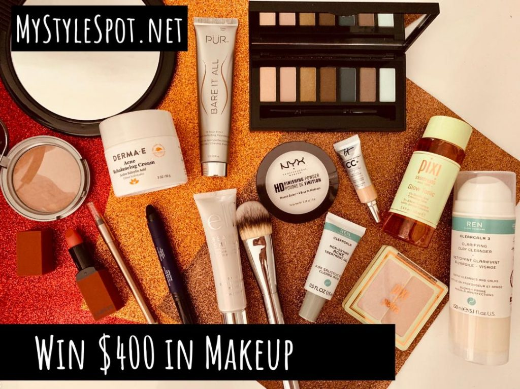 GIVEAWAY: Win $400 in Makeup & Skincare
