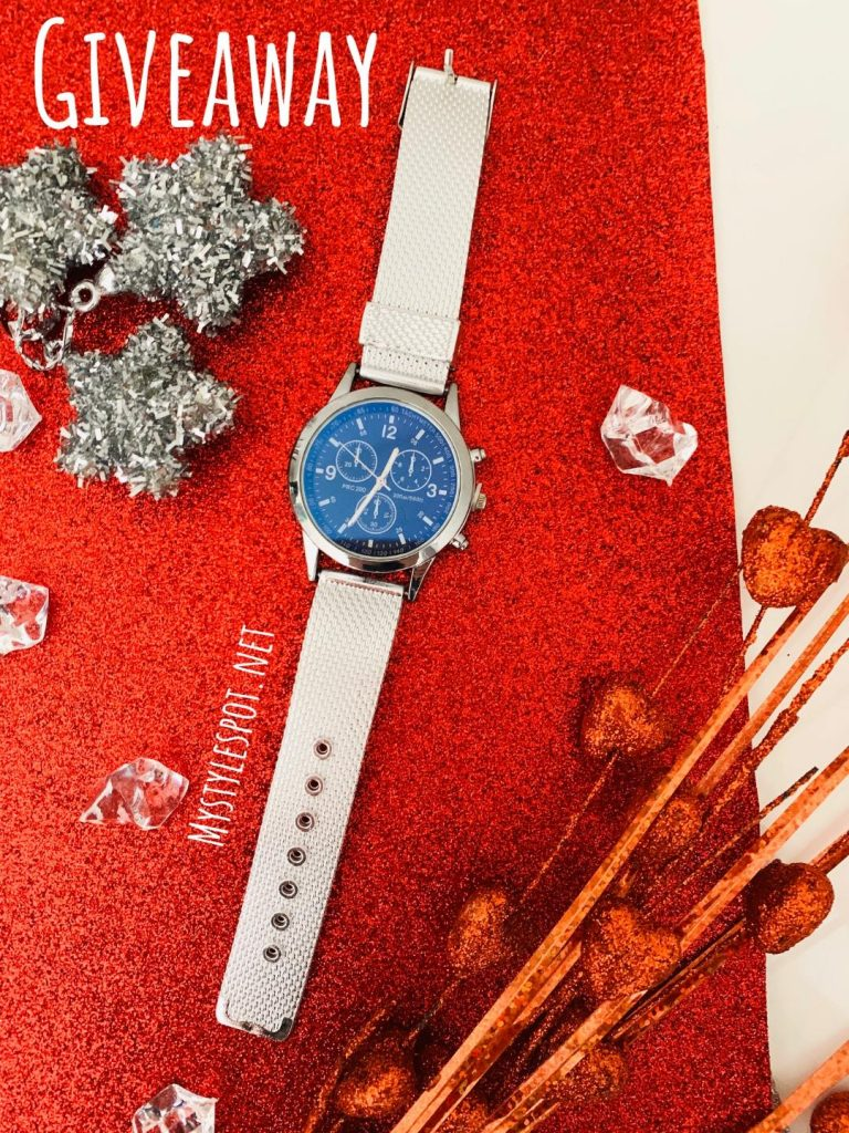 GIVEAWAY: Win a Chic Ladies Watch + Tons of Other Prizes