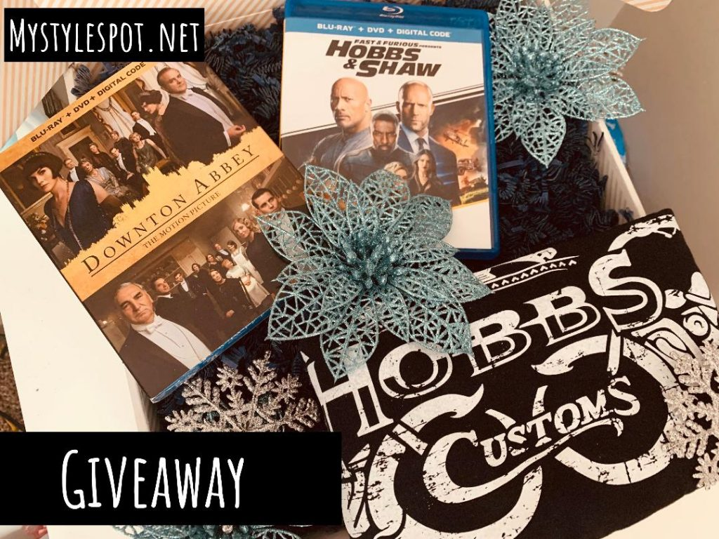 GIVEAWAY: Win a Blu-Ray Movie Night + T-Shirt Prize Package