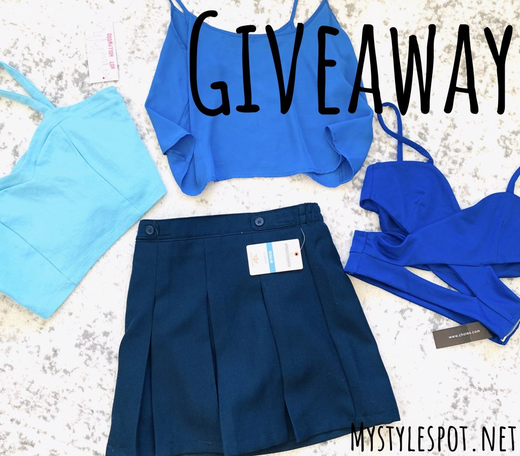 Enter to win a collection of ladies fashion - 4 pieces!
