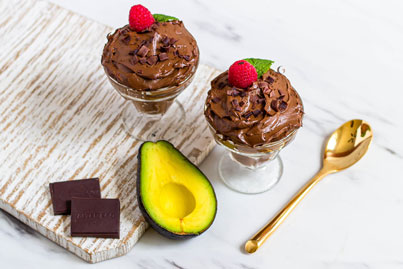 Vegan Keto Chocolate Avocado Pudding recipe