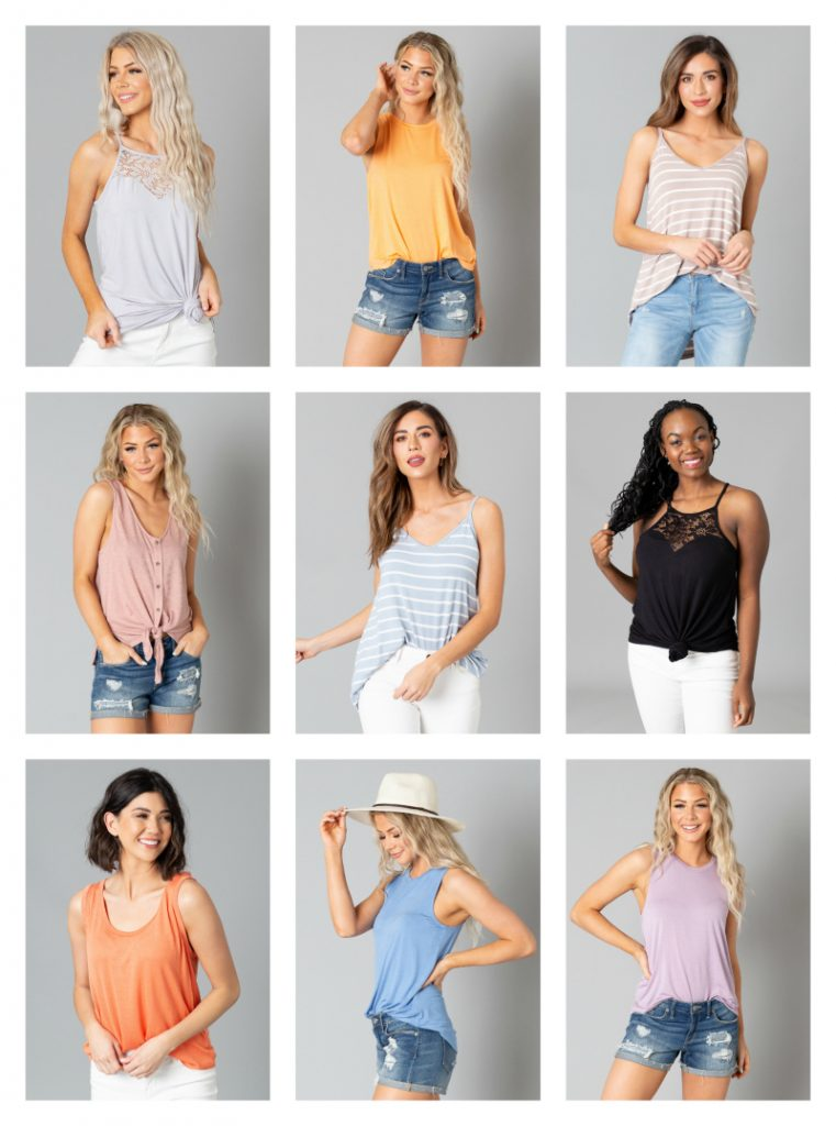 2 for $24 tank top sale + Free shipping