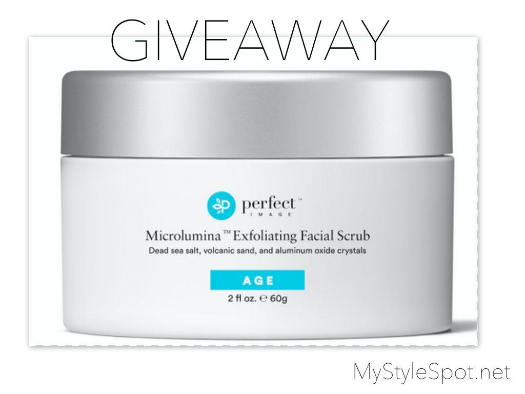 enter to Win Perfect Image Dead Sea Exfolliating body & Face Scrub