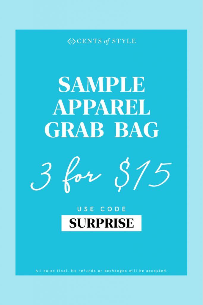 3 ITEMS FOR $15 GRAB BAG