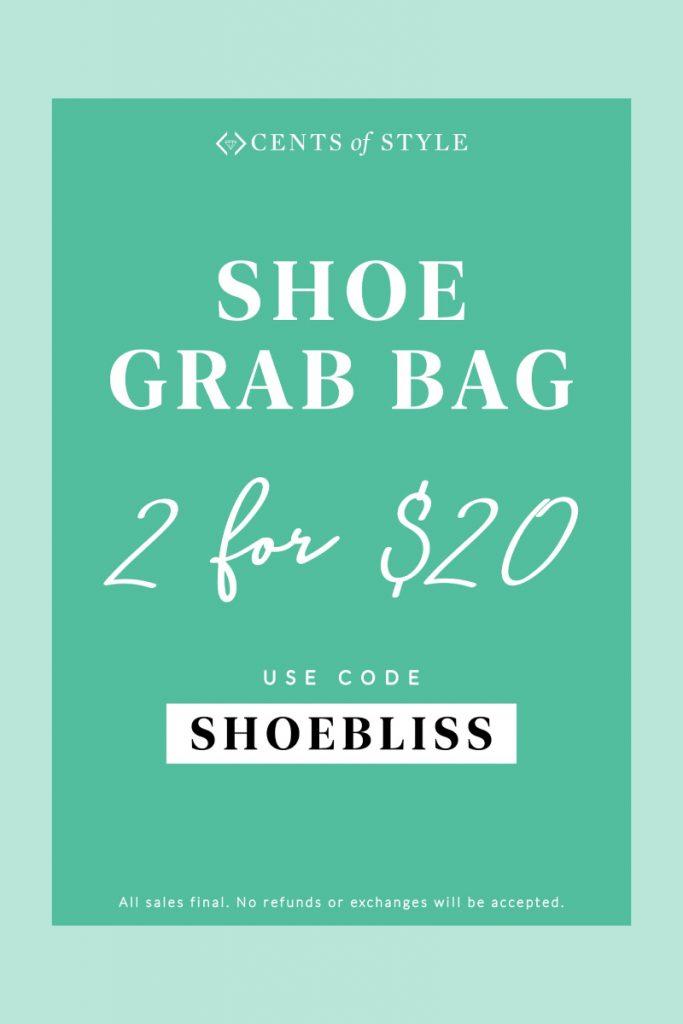 Ladies Shoes FASHION GRAB BAG - 2 for $20