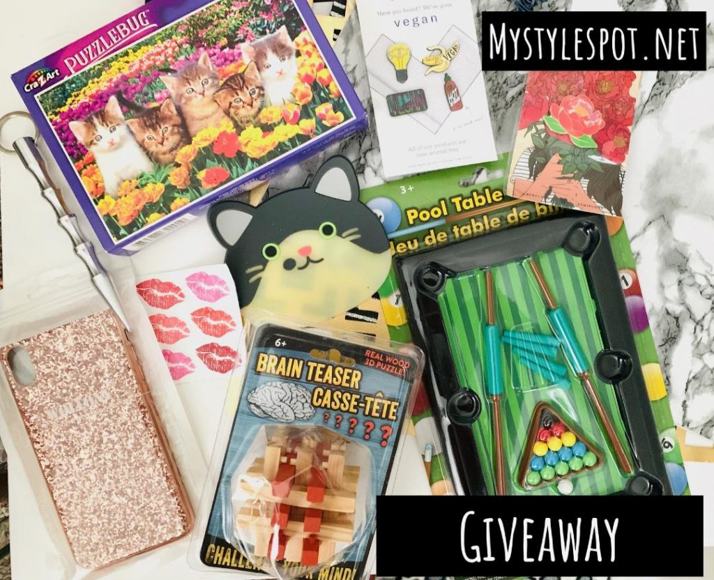 GIVEAWAY: Enter to Win a GrabBag of Games & Misc Prizes