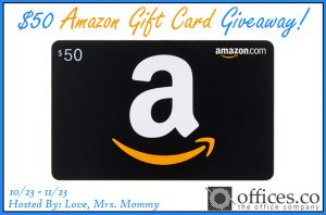 GIVEAWAY: Enter to Win a $50 Amazon Gift Card