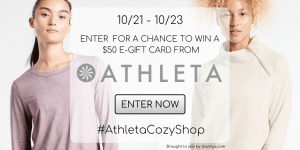 Enter to Win a $50 Athleta Activewear Gift Card – 5 WINNERS!