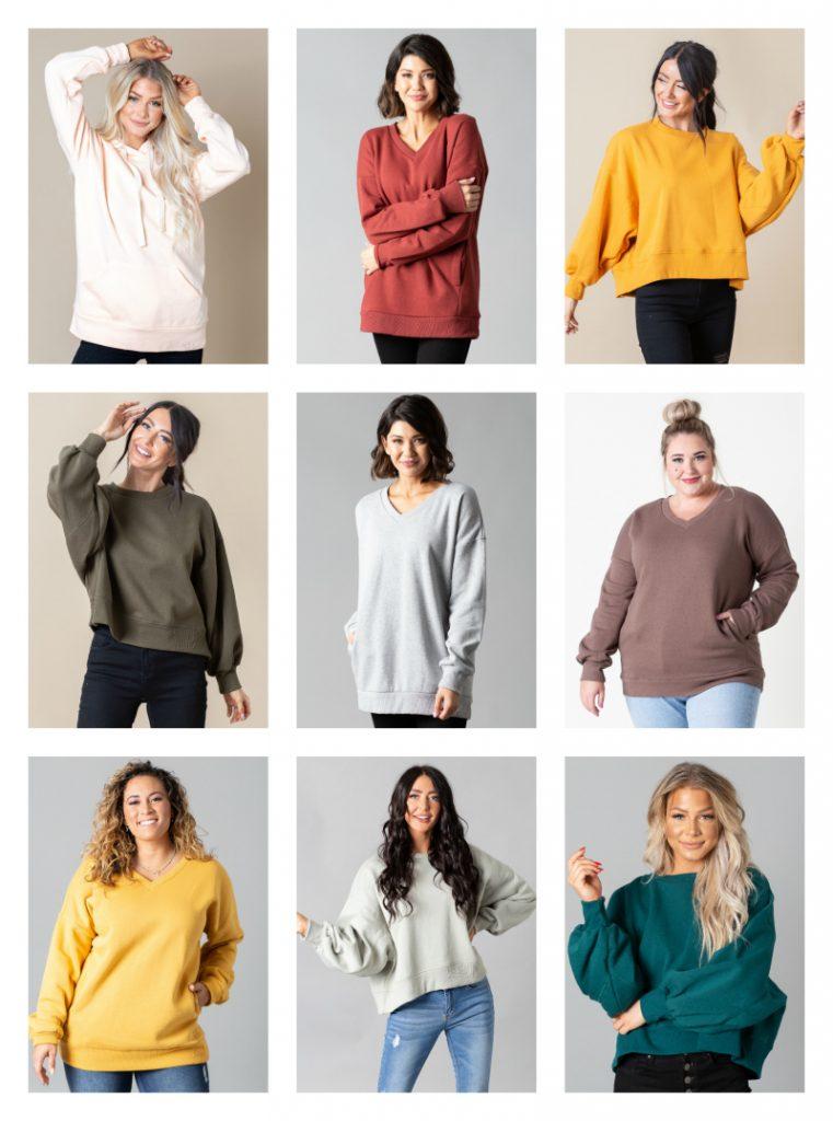 ladies fall sweatshirts and hoodies $19