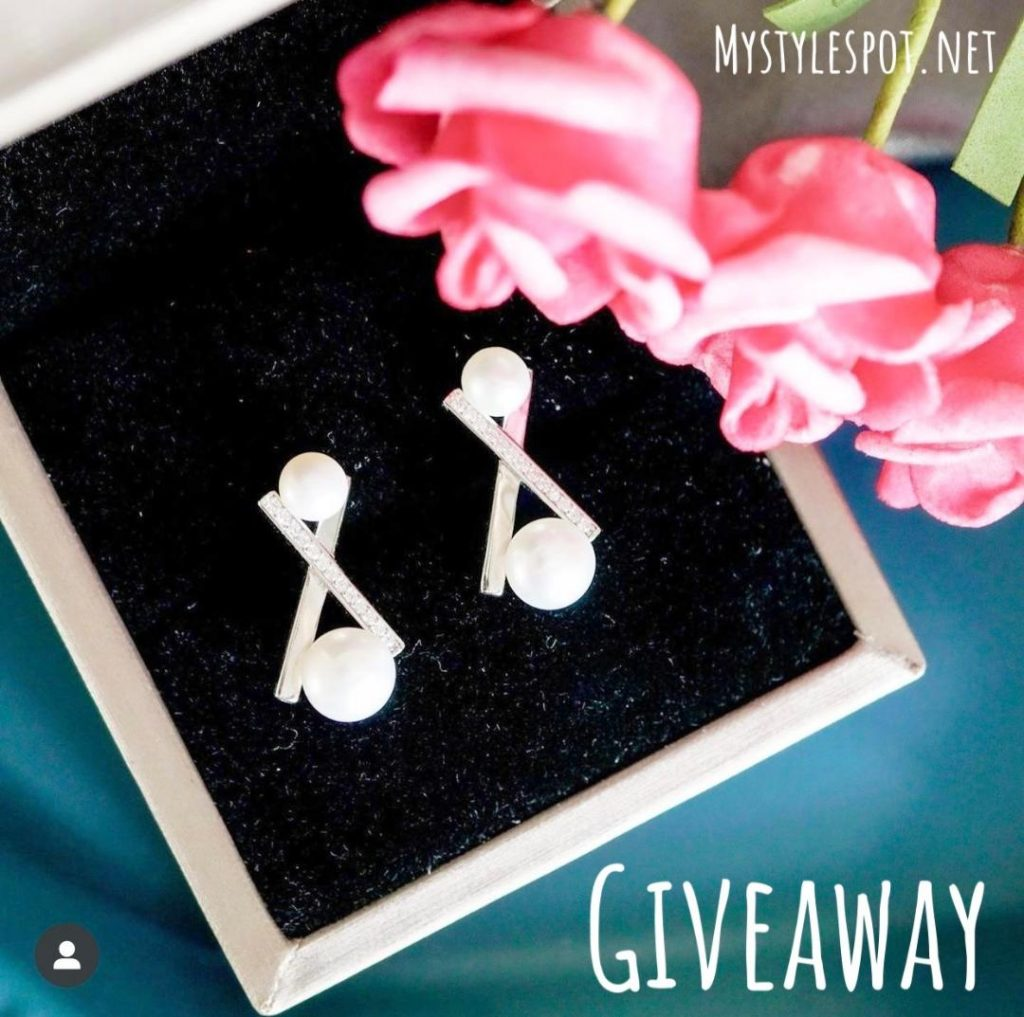 Enter to Win Natural Genuine Pearl Earrings from Pearly Lustre