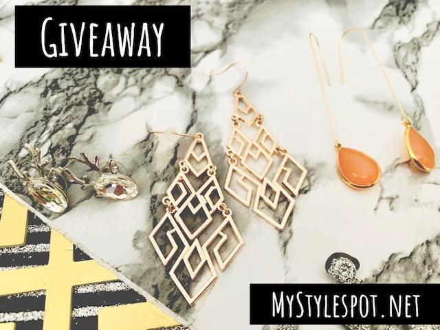 GIVEAWAY: Win a Collection of Earrings