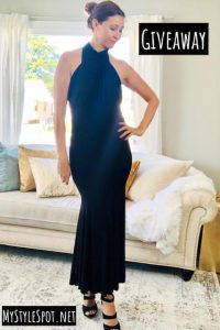GIVEAWAY: Enter to Win a Gorgeous Black Dress