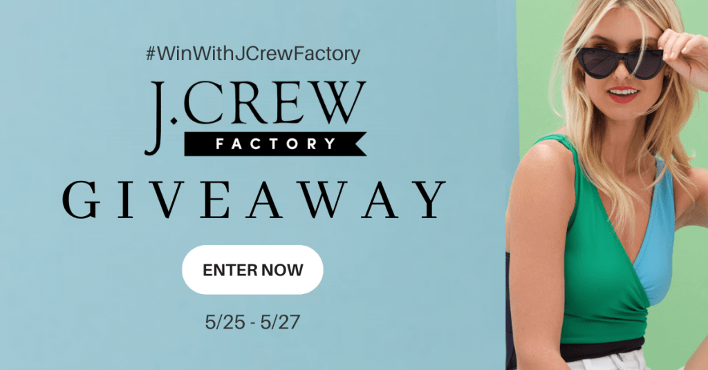 GIVEAWAY: Enter to Win a $100 J Crew Gift Card- 5 WINNERS