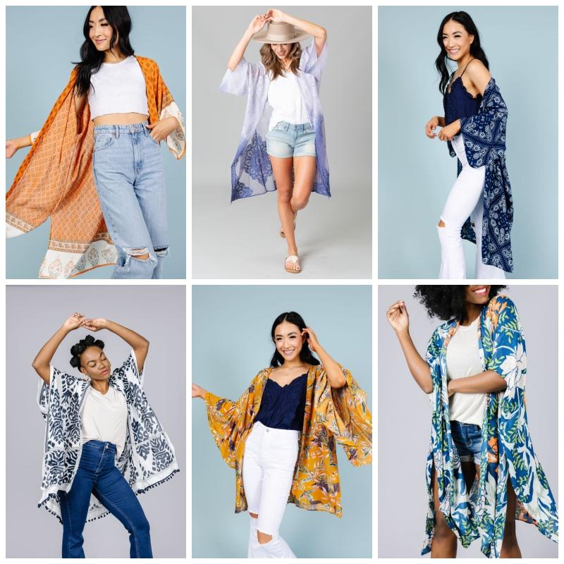 Ladies Kimonos -50% Off the Lowest Marked Price (Starting Under $13!)