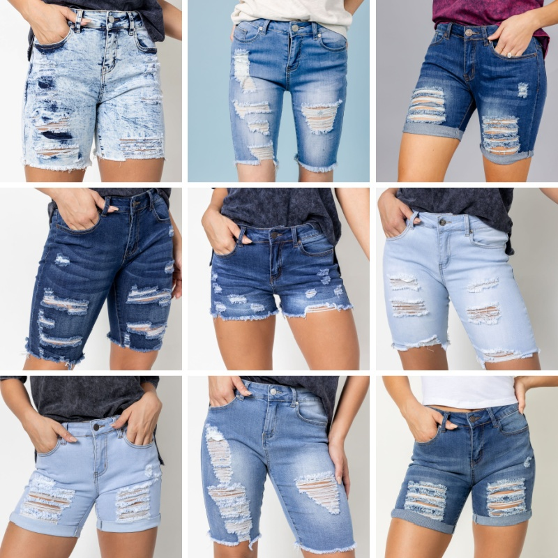 Denim Shorts & Skirts 20% OFF Lowest Marked Price