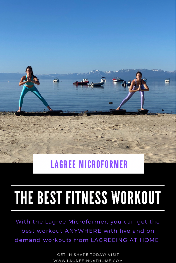 GIVEAWAY: Enter to Win FREE Fitness at Home With Your Own Personalized Trainer from Lagree Fitness