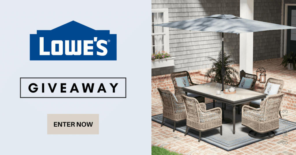 GIVEAWAY: Enter to Win $250 to Shop Lowes - 2 WINNERS