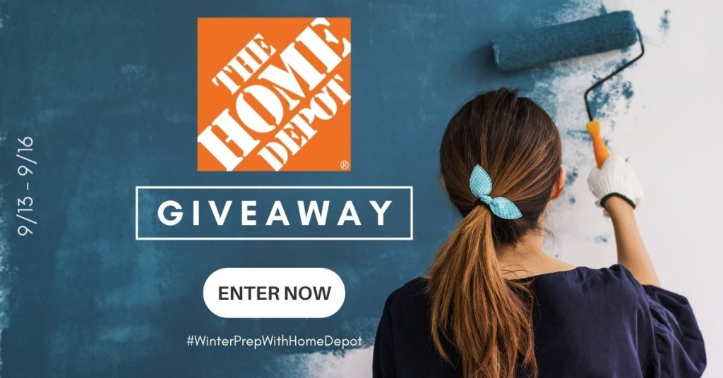 GIVEAWAY: Enter to Win a $250 Home Depot Gift Card - 4 WINNERS