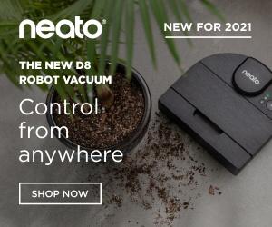 Get $300 OFF The Neato Robot Vacuum!