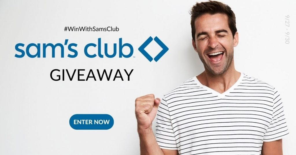 GIVEAWAY: Enter to Win a $100 Sam's Club Gift Card- 5 WINNERS
