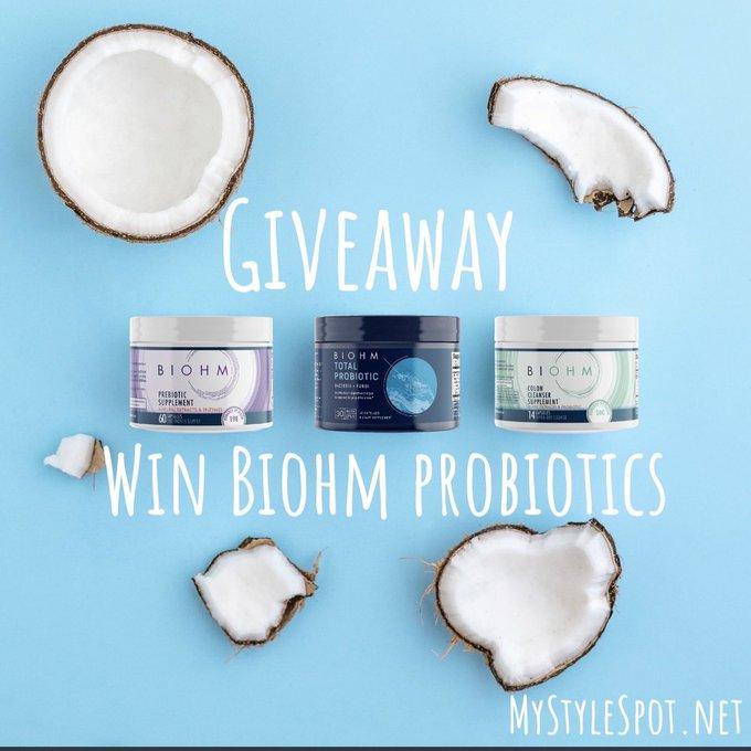 GIVEAWAY: Enter to Win Biohm Reset Regimen Probiotic Bundle