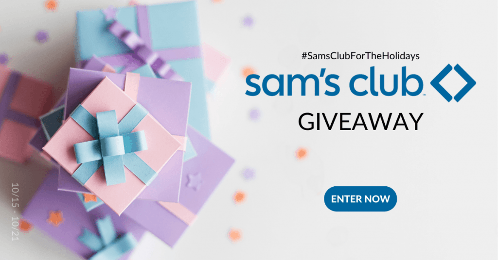 GIVEAWAY: Enter to Win a $250 Sam's Club Gift Card
